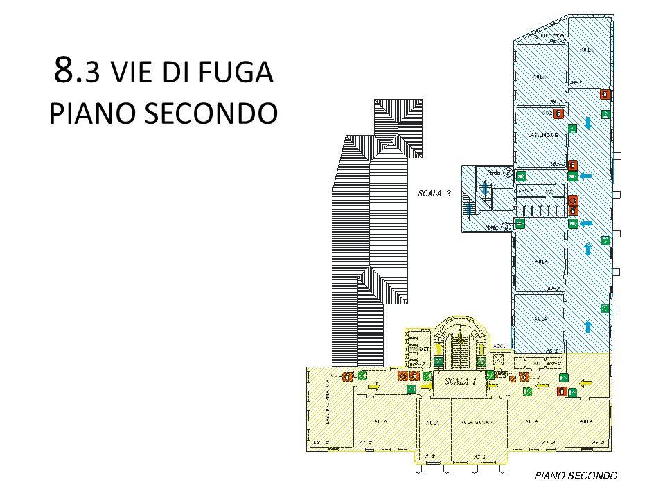 8.3 VIE DI FUGA PIANO SECONDO