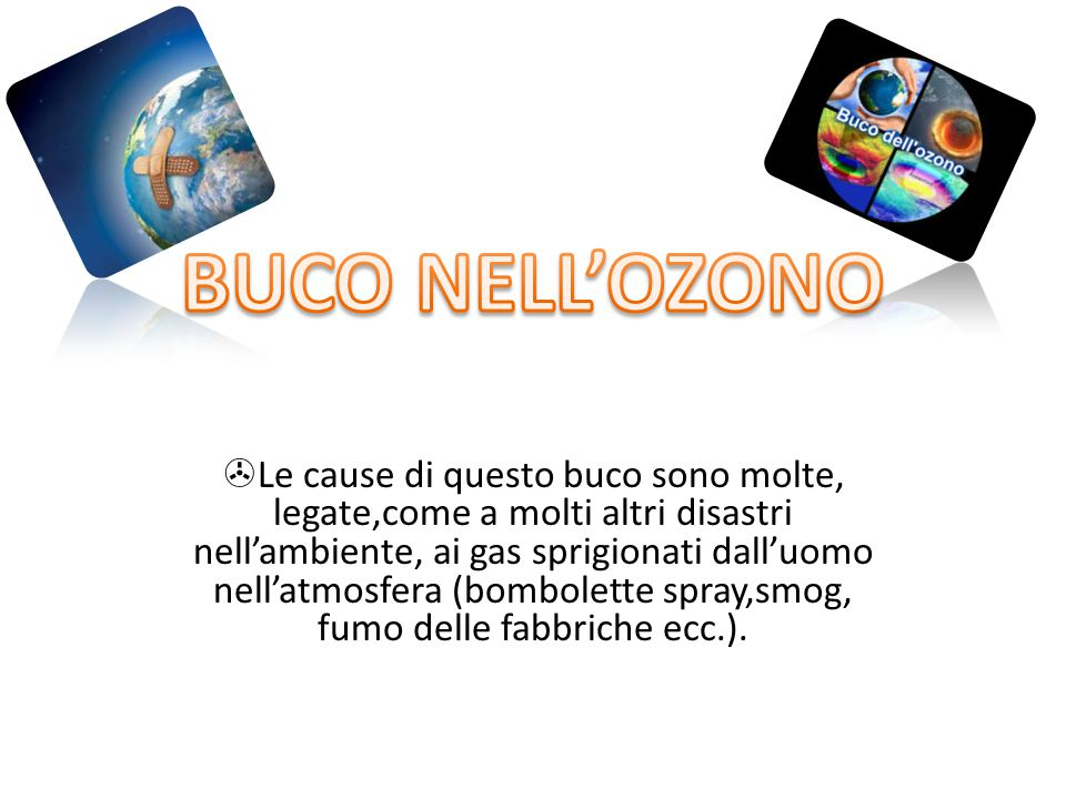 BUCO NELL'OZONO