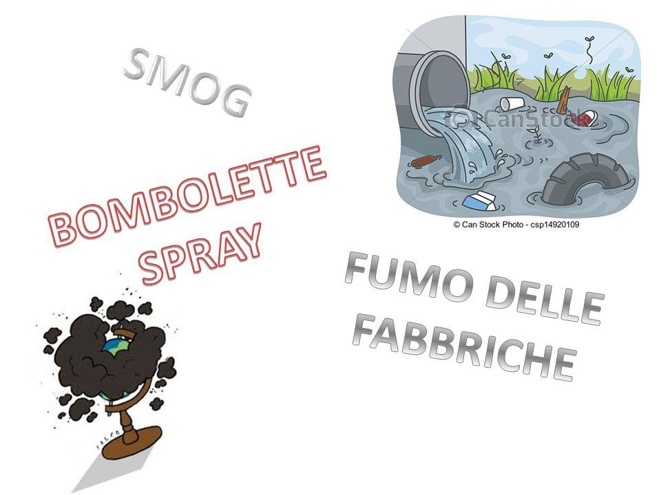SMOG BOMBOLETTE SPRAY FUMO DELLE FABBRICHE