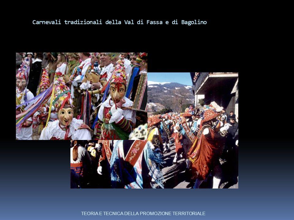 Carnevali tradizionali della Val di Fassa e di Bagolino