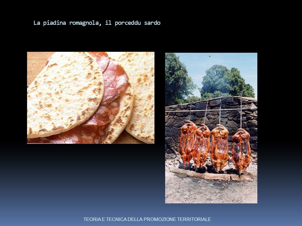 La piadina romagnola, il porceddu sardo
