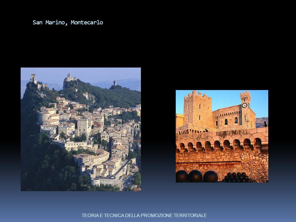 San Marino, Montecarlo TEORIA E TECNICA DELLA PROMOZIONE TERRITORIALE