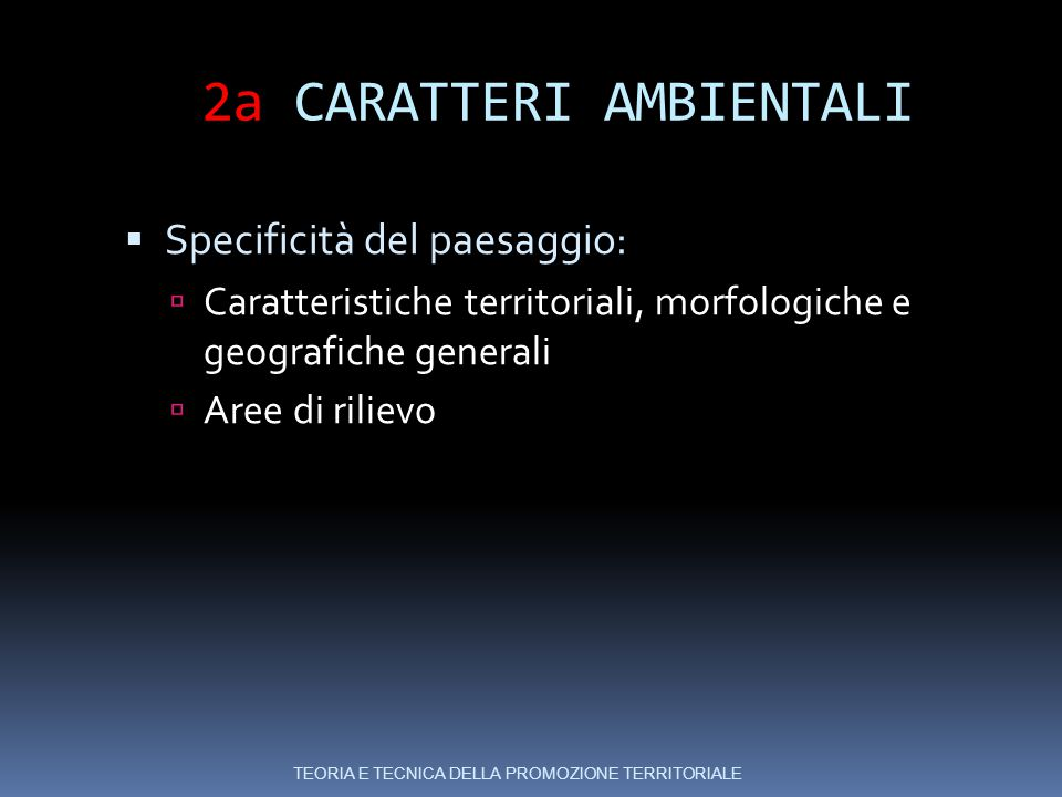 2a CARATTERI AMBIENTALI