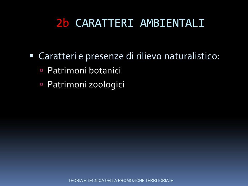2b CARATTERI AMBIENTALI