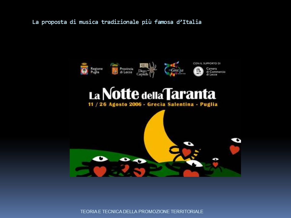 La proposta di musica tradizionale più famosa d'Italia
