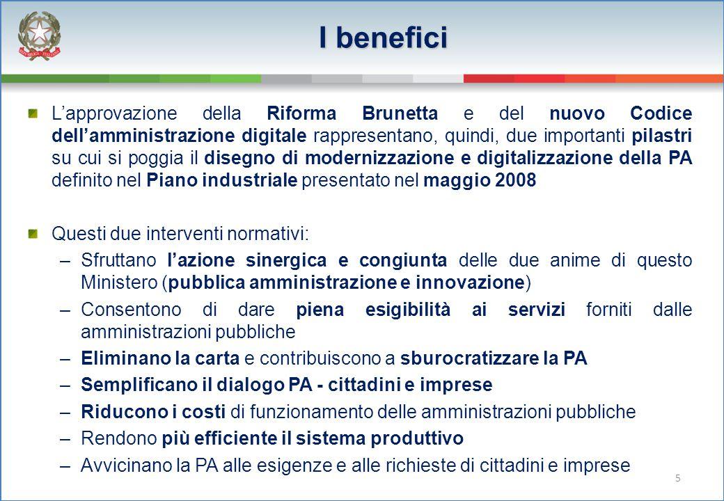 I benefici