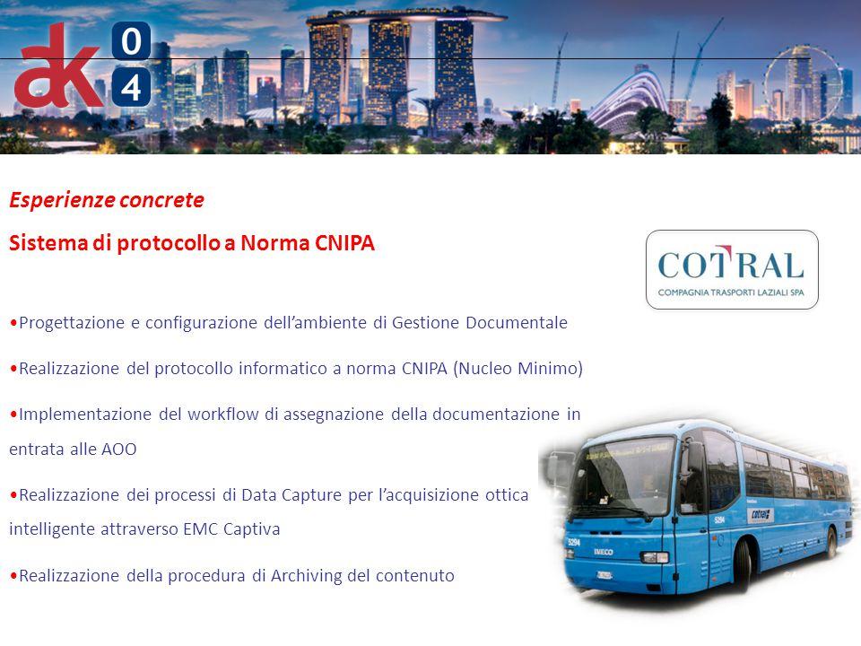 Sistema di protocollo a Norma CNIPA