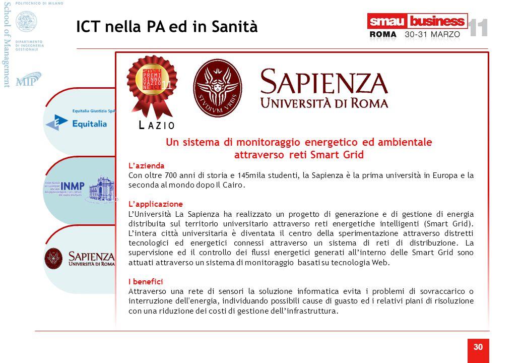 Agenda dell'Innovazione di Smau Roma 2011