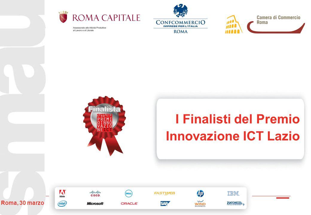 I Finalisti del Premio Innovazione ICT Lazio