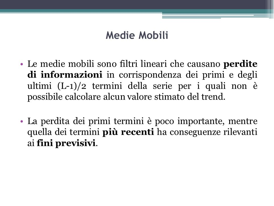 Medie Mobili