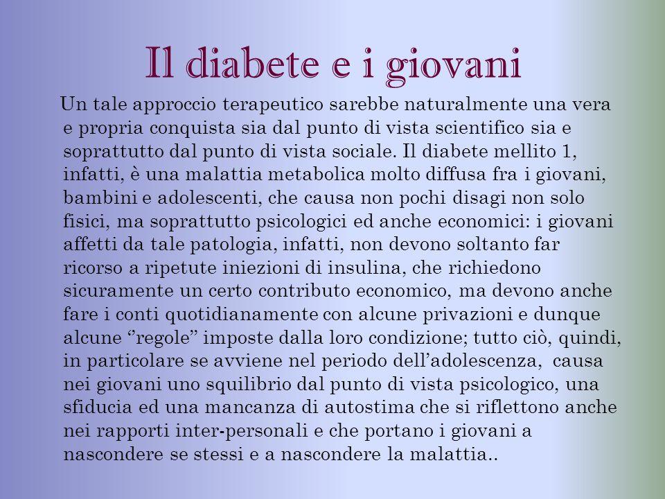 Il diabete e i giovani