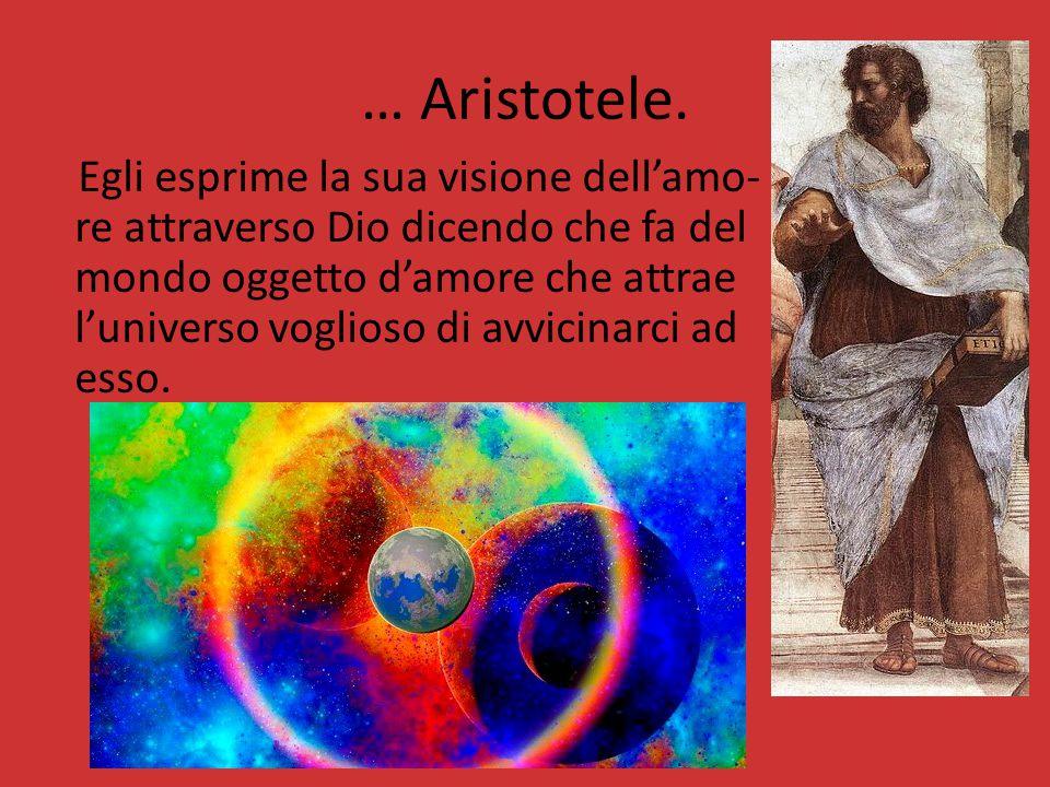 … Aristotele.