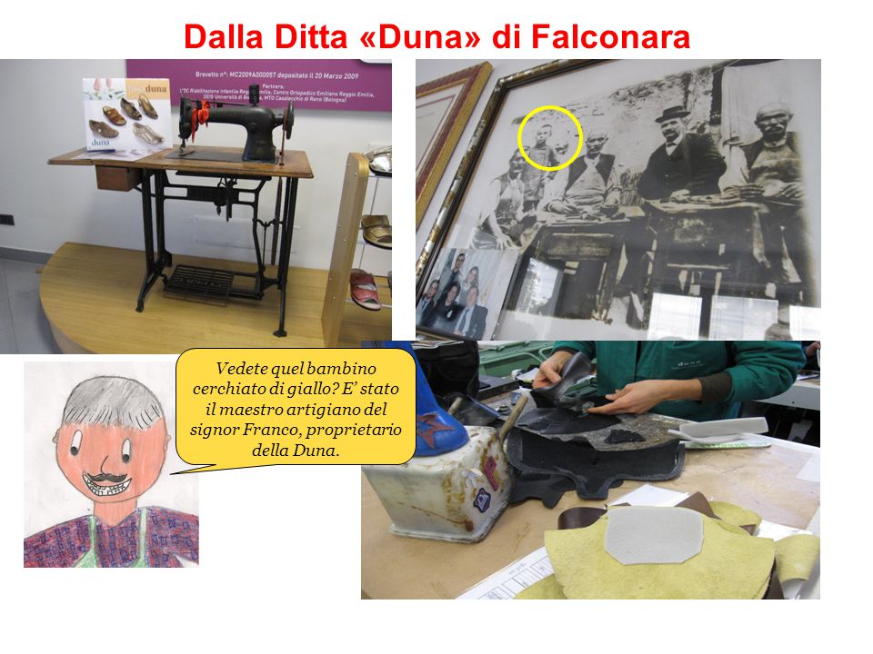 Dalla Ditta «Duna» di Falconara