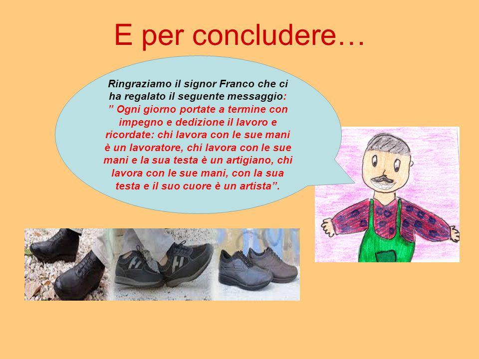 Ringraziamo il signor Franco che ci ha regalato il seguente messaggio:
