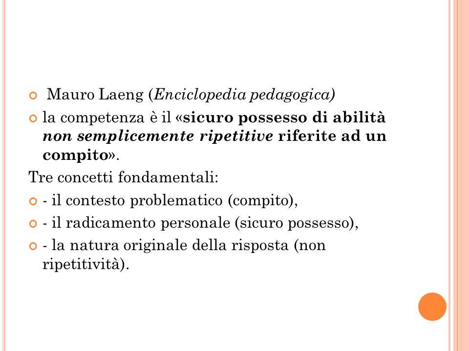 Mauro Laeng (Enciclopedia pedagogica)