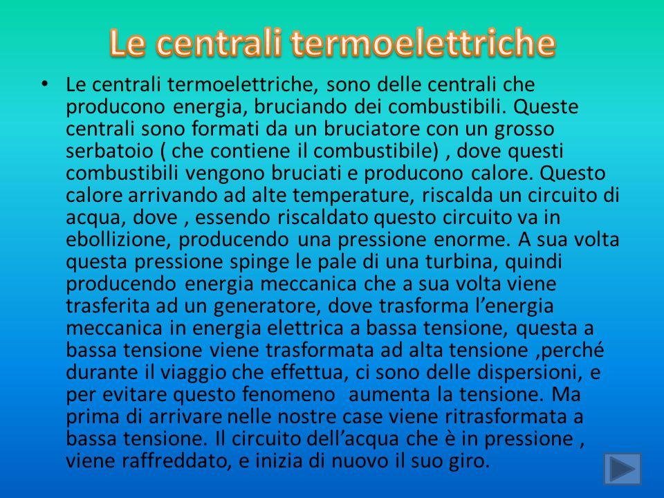 Le centrali termoelettriche