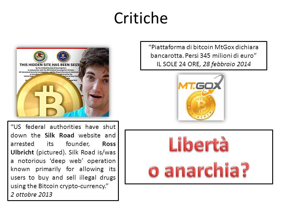 Libertà o anarchia Critiche