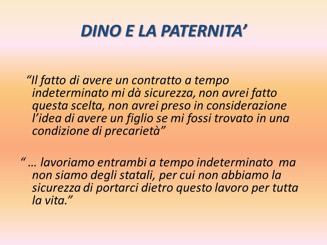 DINO E LA PATERNITA'