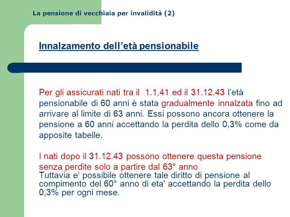 La pensione di vecchiaia per invalidità (2)