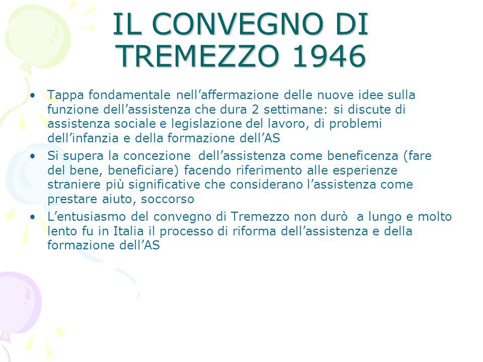 IL CONVEGNO DI TREMEZZO 1946