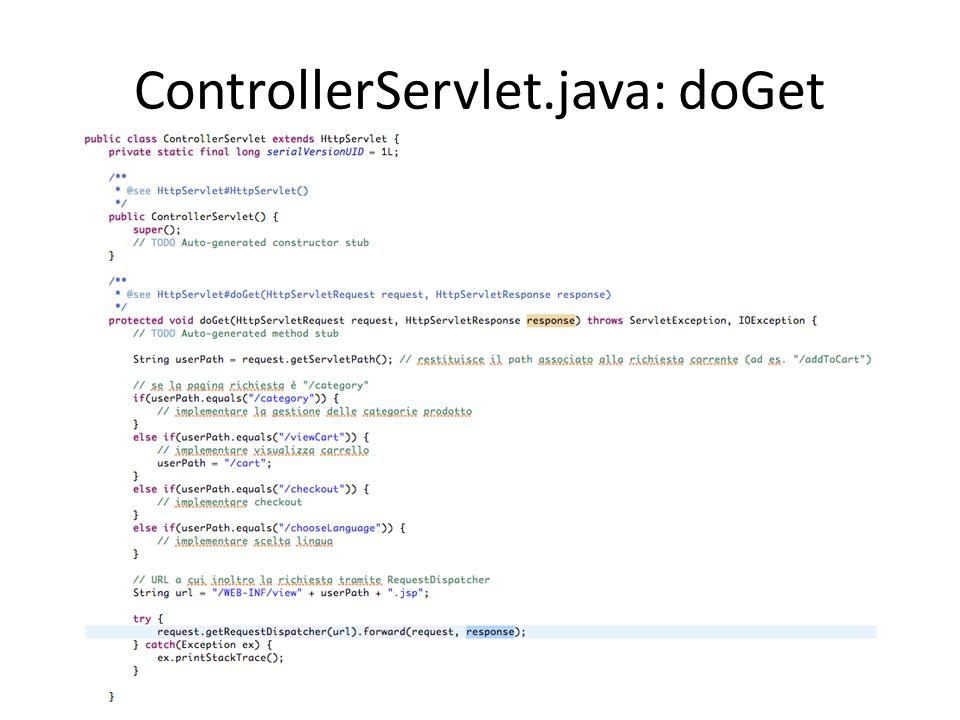 ControllerServlet.java: doGet