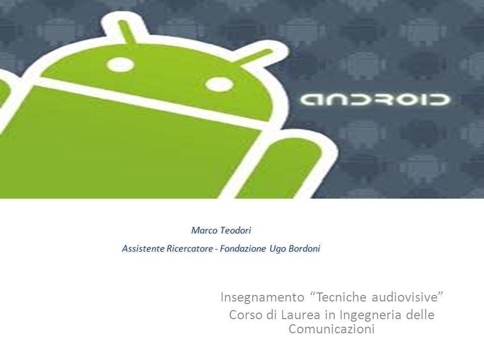 Android Insegnamento Tecniche audiovisive