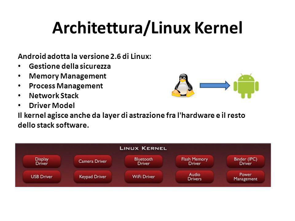 Architettura/Linux Kernel