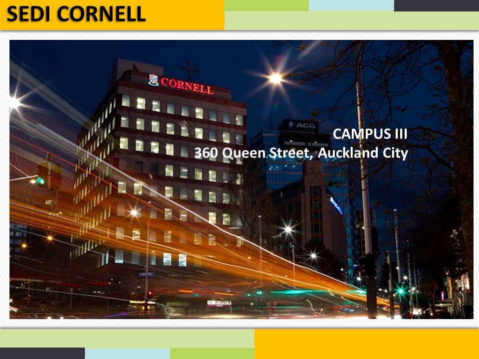 SEDI CORNELL CAMPUS III 360 Queen Street, Auckland City