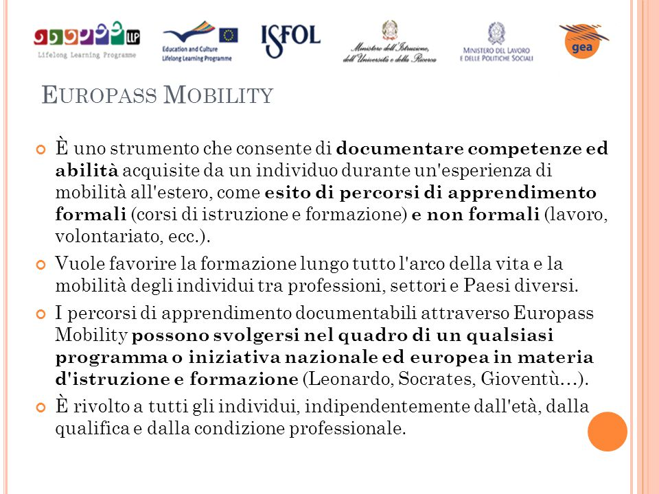 Europass Mobility