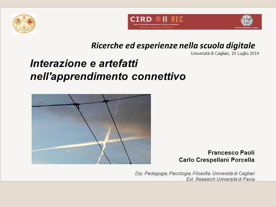 Ricerche ed esperienze nella scuola digitale