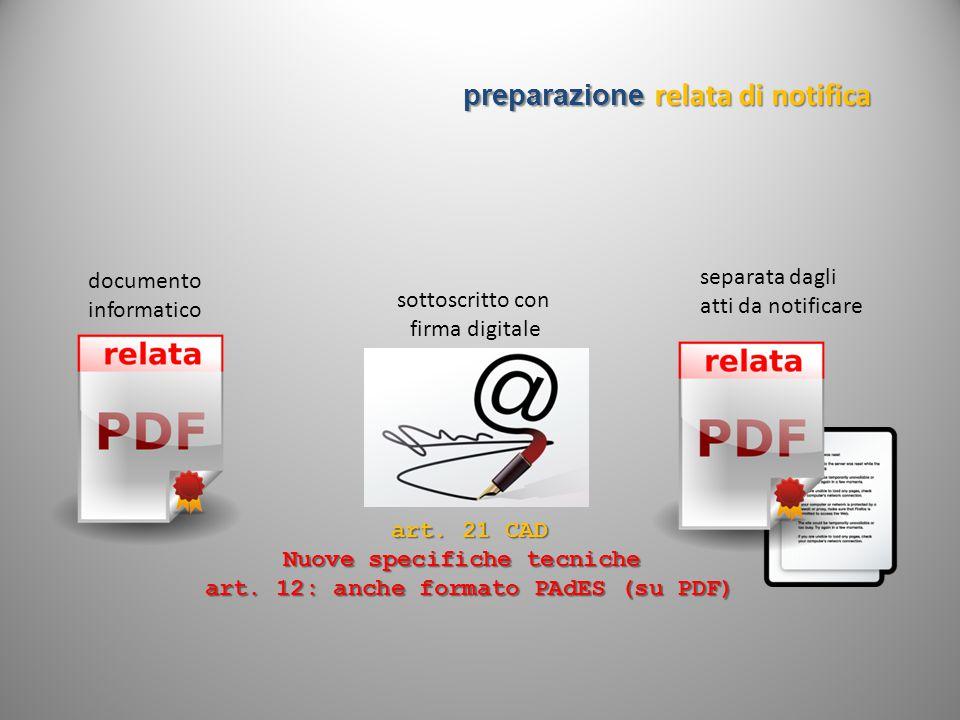Nuove specifiche tecniche art. 12: anche formato PAdES (su PDF)