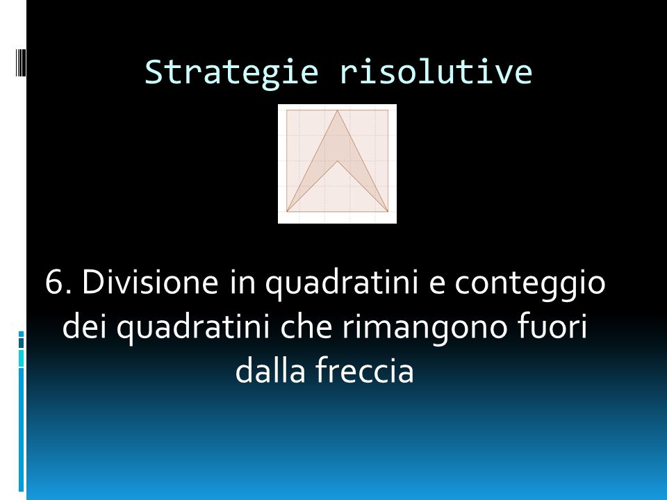 Strategie risolutive 6.