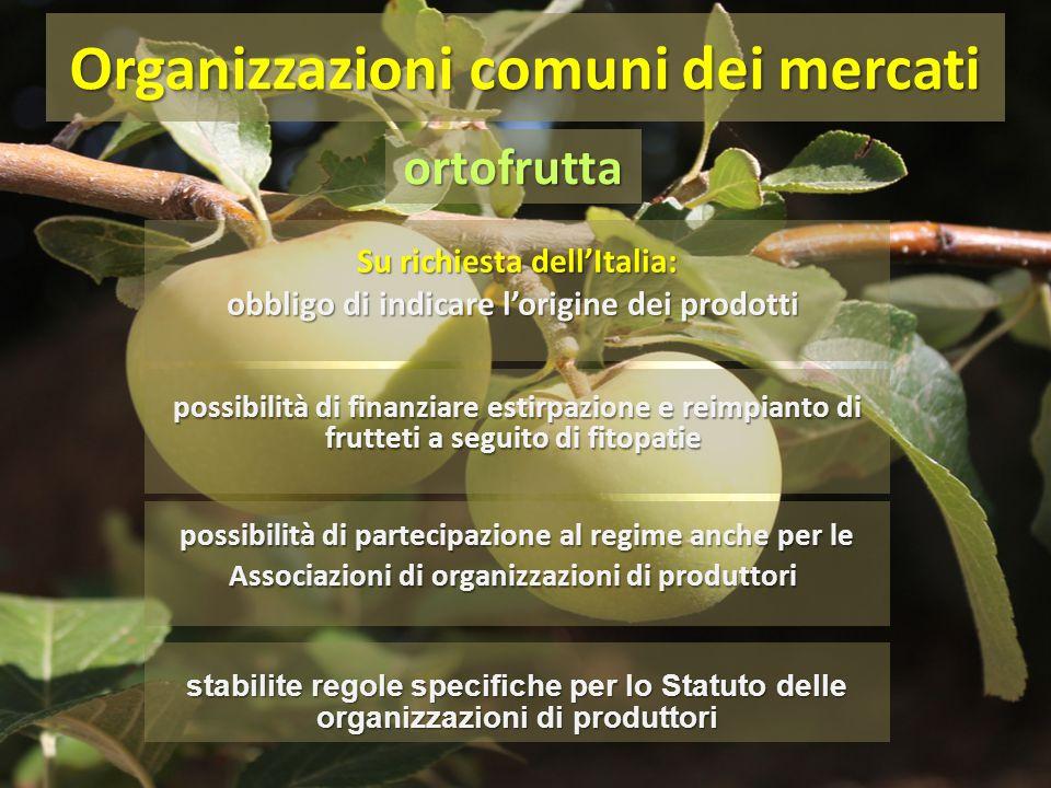 Su richiesta dell'Italia: obbligo di indicare l'origine dei prodotti