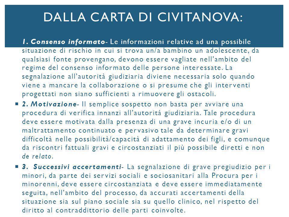 Dalla Carta di civitanova: