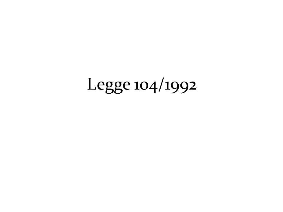 Legge 104/1992