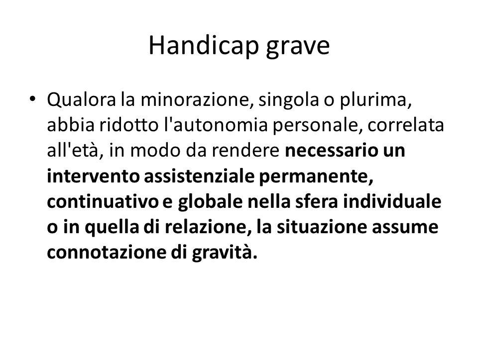 Handicap grave