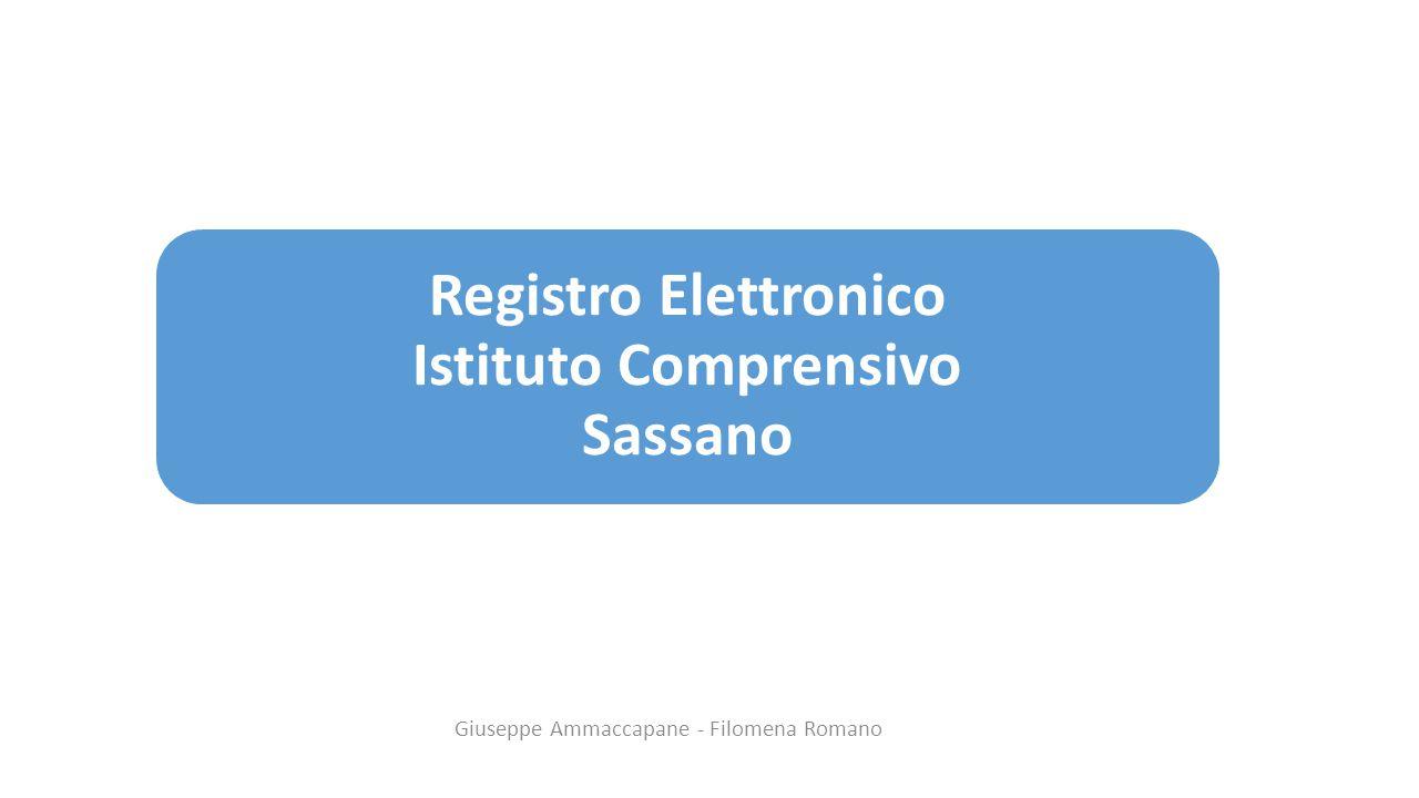 Registro Elettronico Istituto Comprensivo Sassano