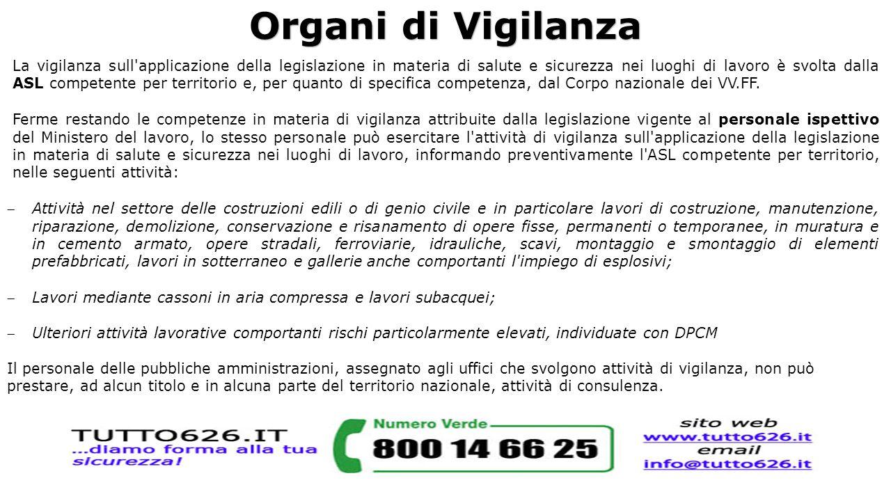 Organi di Vigilanza