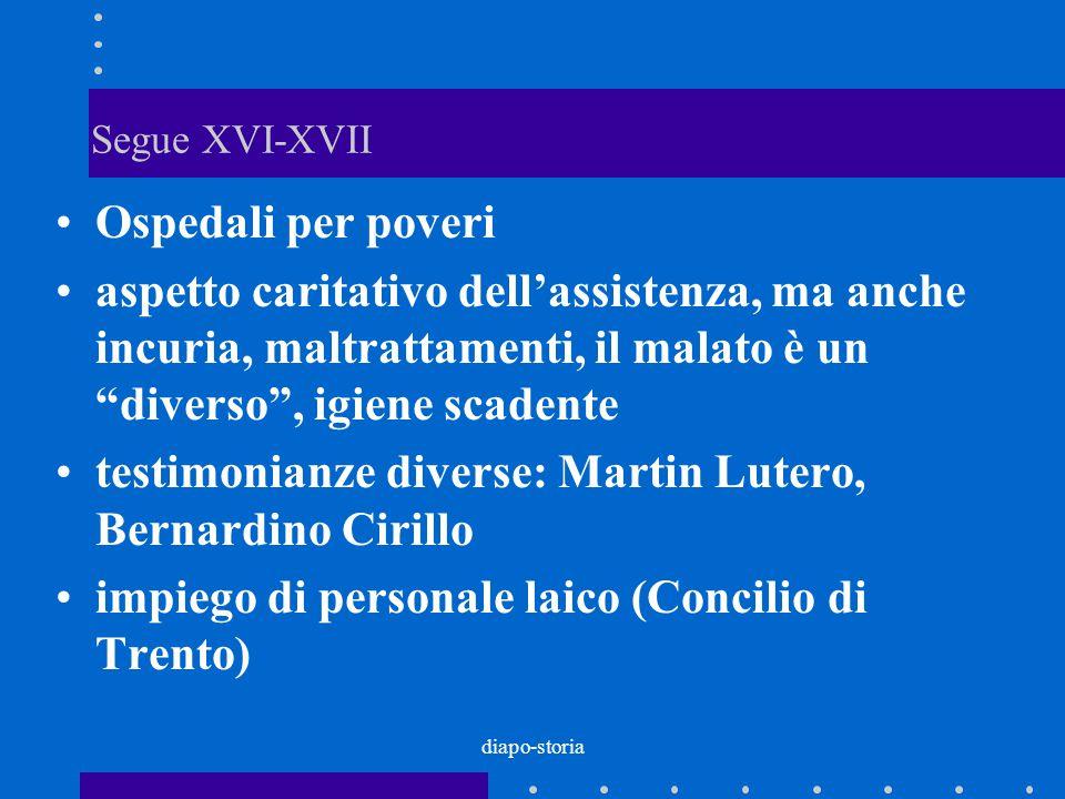 testimonianze diverse: Martin Lutero, Bernardino Cirillo