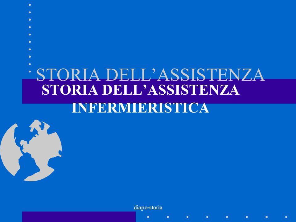 STORIA DELL'ASSISTENZA
