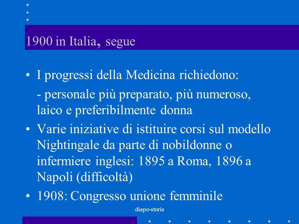 I progressi della Medicina richiedono: