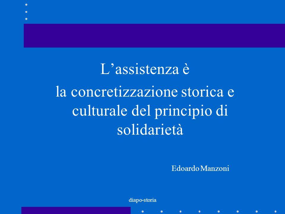 la concretizzazione storica e culturale del principio di solidarietà