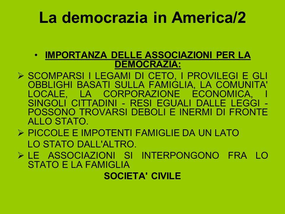 La democrazia in America/2