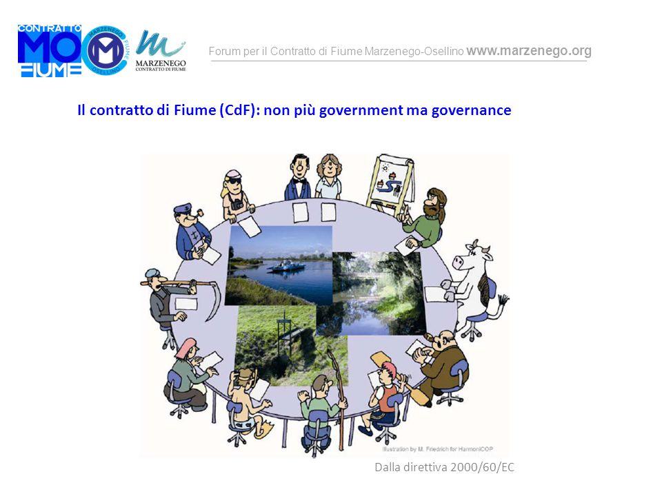 Il contratto di Fiume (CdF): non più government ma governance