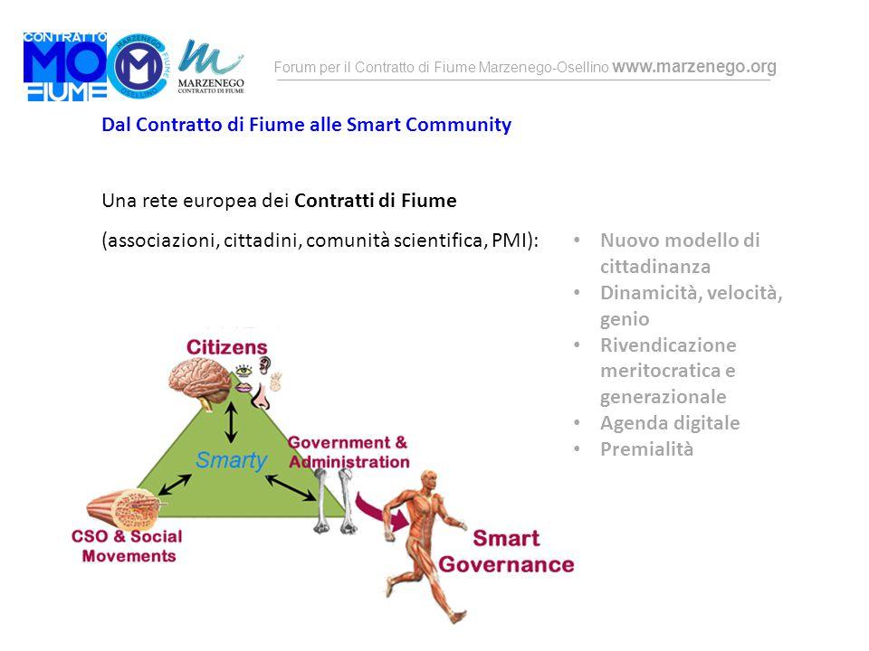 Dal Contratto di Fiume alle Smart Community