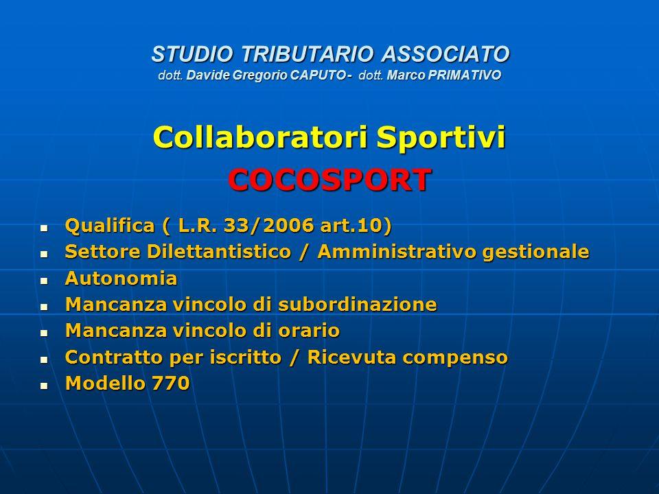 Collaboratori Sportivi