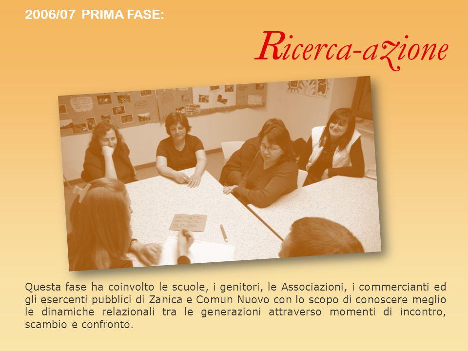 Ricerca-azione 2006/07 PRIMA FASE: