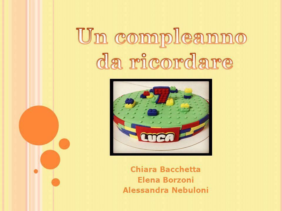 Chiara Bacchetta Elena Borzoni Alessandra Nebuloni