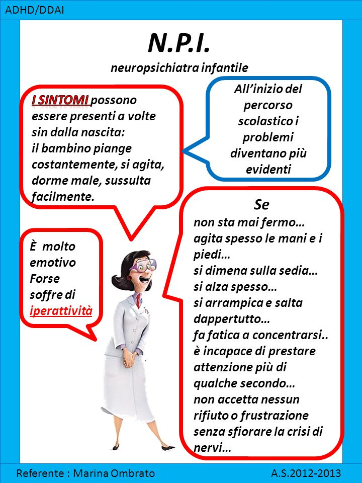N.P.I. neuropsichiatra infantile
