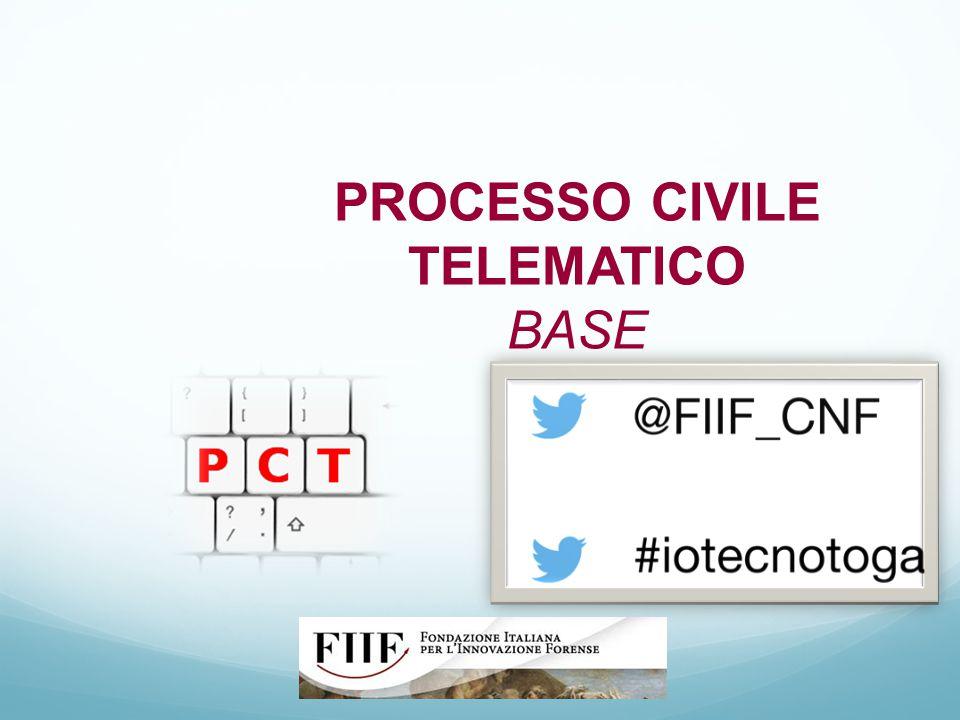 PROCESSO CIVILE TELEMATICO BASE